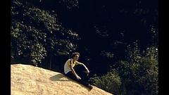 Yosemite mountain lake Stock Footage