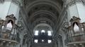 4k Baroque dome cathedral Salzburg Austria overhead tilt shot 4k or 4k+ Resolution