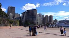 Sydney, Opera House, Building, People Stock Footage