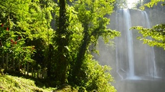 Mishol Ha Chiapas Mexico Panning Footage Stock Footage
