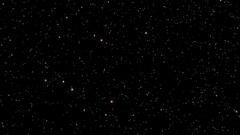 A star field twinkles in a night sky - Night Sky 005 HD Stock Video Stock Footage