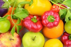 Fruits and vegetables Kuvituskuvat