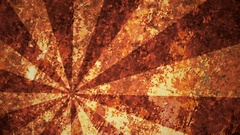 Abstract,grunge sunburst in orange color Stock Footage
