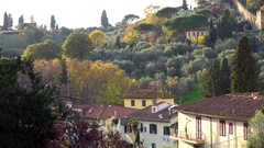 Florence from Piazzale Michelangelo. Florence, Italy. Stock Footage