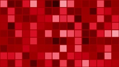 Flashing squares in red color Stock Footage