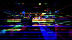 Streaming digital light effects - HD Stock Footage Stock Footage