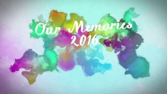 New Year Countdown Memories Stock After Effects