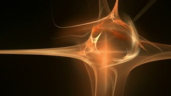 Fire shape pattern abstract motion background Stock Footage