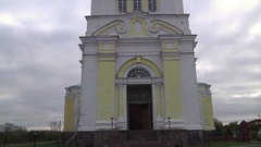 The Holy Trinity-St. Nicholas Church,Russia Stock Footage