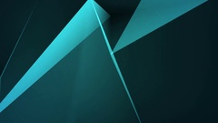 Low polygonal dark rectangles moving background HD format Stock Footage