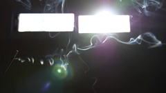 Burning Incense Stick Stock Footage