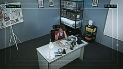 CCTV camera installed at the police station, fixes work and lunch break Arkistovideo