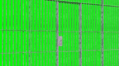 Animation of open and closed Jail bars door isolated on Green Screen Stock Footage