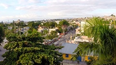 Time-lapse of Port-au-Prince, Haiti  Stock Footage