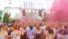 Color Sky 5K Istanbul Stock Photos