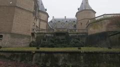 Old Renaissance Castle Stock Footage
