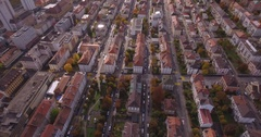 Look up Chaux-de-Fonds - Aerial 4K Stock Footage