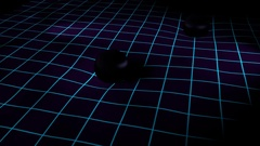 Gravitational waves. Stock Footage