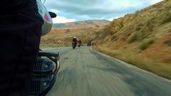 Group of Bikes Tour de Turkey Stock Footage