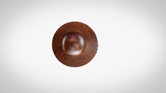 Patented 3D Animated Round Wooden Stamp Animation Arkistovideo