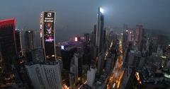Hong Kong panorama Stock Footage