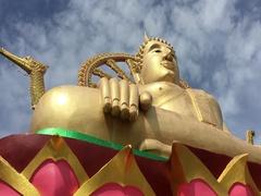 Samui Big Buddha Stock Footage
