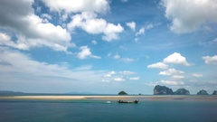 Time lapse of typical landscape in Thailand Stock Footage
