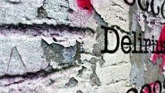 Delirium grunge concept Stock Footage