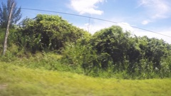 Landscape and mountains on Cuba at Santa Clara Stock Footage