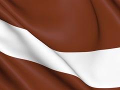 Animation of Latvia. Stock Footage