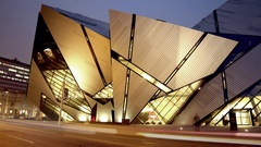 Modern Architecture Time Lapse Stock Footage