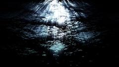 Underwater ocean waves ripple and flow - HD Stock Footage Stock Footage