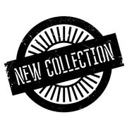 New collection stamp Stock Illustration