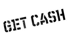 Get Cash rubber stamp Stock Illustration