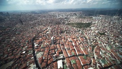 Aerial view of the Istanbul Stock Footage