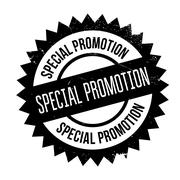 Special promotion stamp Stock Illustration