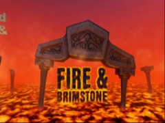 Fire & Brimstone - Loopable 360 Panoramic of Hell Stock After Effects