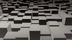 Irregular Cube Floor Loop Stock Footage