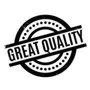 Great Quality rubber stamp Stock Illustration