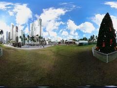 360vr Downtown Miami 4k Stock Footage