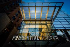 The Prudential Center, in Back Bay, Boston, Massachusetts. Stock Photos