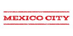 Mexico City Watermark Stamp Piirros