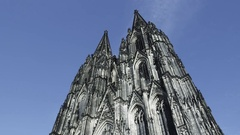 Kölner Dom  - Cologne Cathedral Stock Footage