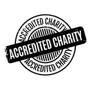 Accredited Charity rubber stamp Piirros