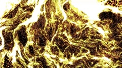 4k Gold Particle seamless background Stock Footage