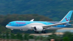 Boeing 787 Dreamliner Stock Footage