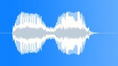 Single party trumpet 2 Sound Effect