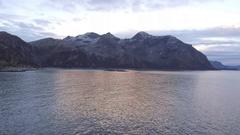 Vengsoya island, 4K Aerial Stock Footage