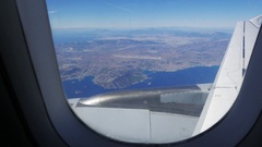 4K Airplane approaching Athens Greece Europe Stock Footage