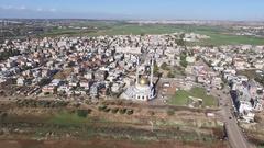 Arab  village mosque Stock Footage